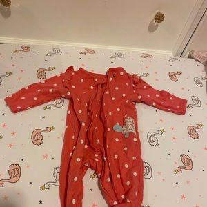 $1 item! Footed pajamas!